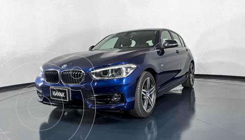 BMW Serie 1 120iA Sport Line usado (2018) color Azul precio $392,999