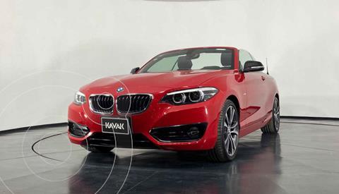 BMW Serie 2 Coupe 220iA Convertible Sport Line Aut usado (2018) color Rojo precio $519,999