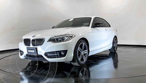 BMW Serie 2 Coupe 220iA Convertible Sport Line Aut usado (2016) color Blanco precio $339,999