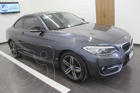 BMW Serie 2 Coupe 220iA Sport Line Aut usado (2017) color Gris precio $349,000