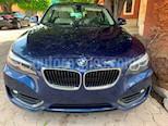 Foto venta Auto usado BMW Serie 2 220iA Aut (2018) color Azul Profundo precio $430,000