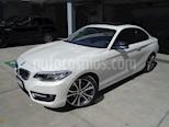 Foto venta Auto usado BMW Serie 2 220iA Sport Line Aut (2016) color Blanco precio $380,000