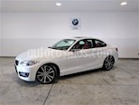 Foto venta Auto usado BMW Serie 2 220iA Sport Line Aut (2016) color Blanco Mineral precio $379,900