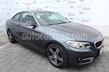 Foto venta Auto usado BMW Serie 2 220iA Sport Line Aut (2017) color Gris precio $375,000