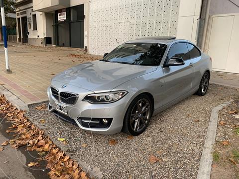 BMW Serie 2 220i Sport Line usado (2015) color Gris Mineral precio u$s29.000