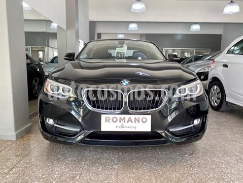 BMW Serie 2 220i Sport Line Cabrio usado (2017) color Negro precio u$s36.500