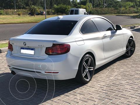 BMW Serie 2 220i Sport Line usado (2021) color Blanco precio u$s44.000