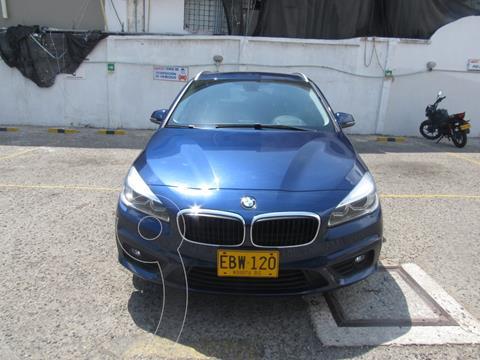 BMW Serie 2  218i Active Tourer  usado (2018) color Azul precio $80.500.000