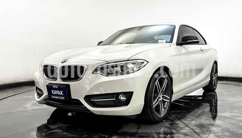 foto BMW Serie 2 220iA Convertible Sport Line Aut usado (2016) color Blanco precio $337,999