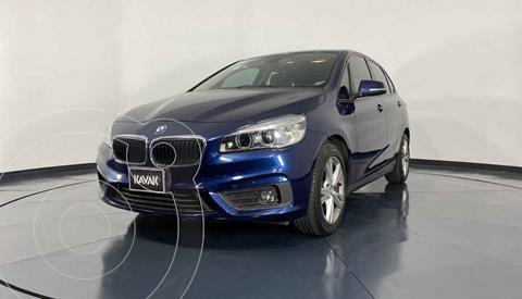 BMW Serie 2 Active Tourer 220iA Aut usado (2016) color Azul precio $279,999