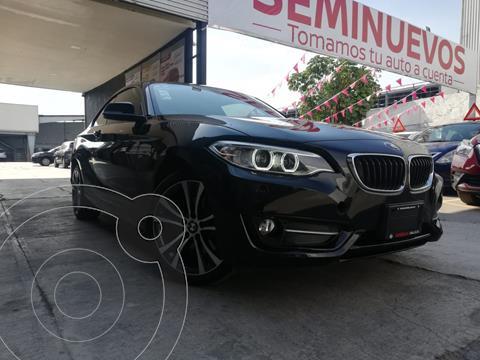 BMW Serie 2 220i Coupe usado (2017) color Negro precio $359,800