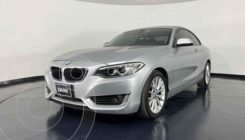 BMW Serie 2 Version usado (2016) color Plata precio $349,999