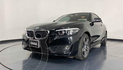 BMW Serie 2 220iA Executive Aut usado (2019) color Negro precio $444,999