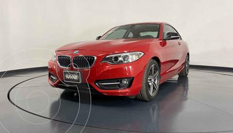 BMW Serie 2 220iA Convertible Sport Line Aut usado (2016) color Rojo precio $342,999