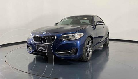 BMW Serie 2 220iA Convertible Sport Line Aut usado (2016) color Azul precio $337,999