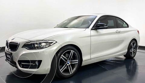 BMW Serie 2 220iA Convertible Sport Line Aut usado (2016) color Blanco precio $347,999