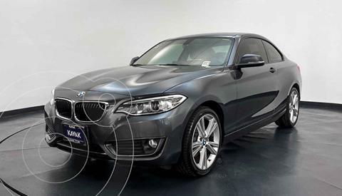 BMW Serie 2 Version usado (2016) color Gris precio $324,999