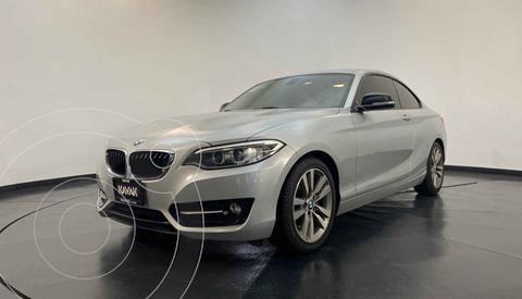 BMW Serie 2 220iA Convertible Sport Line Aut usado (2016) color Plata precio $347,999
