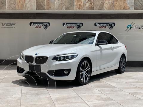 BMW Serie 2 220iA Sport Line Aut usado (2019) color Blanco precio $485,000