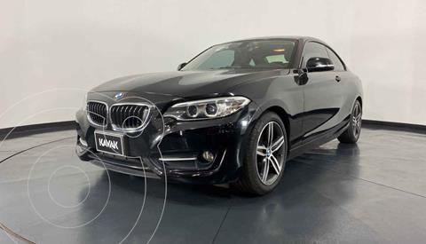 BMW Serie 2 220iA Convertible Sport Line Aut usado (2016) color Negro precio $319,999