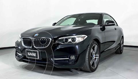 BMW Serie 2 220iA Convertible Sport Line Aut usado (2016) color Negro precio $347,999
