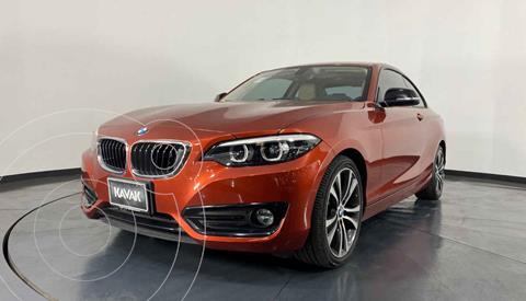 BMW Serie 2 220iA Executive Aut usado (2019) color Naranja precio $477,999