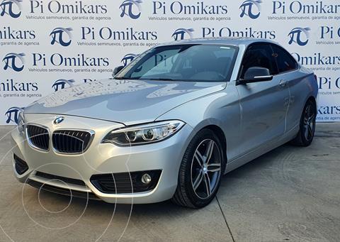 BMW Serie 2 220iA Sport Line Aut usado (2016) color Negro precio $320,000