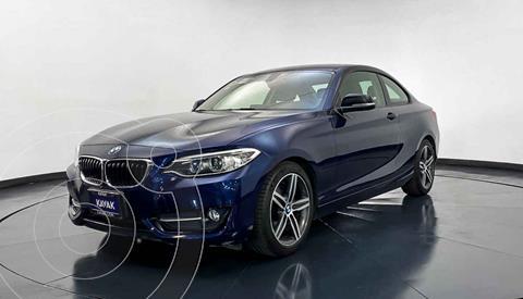 BMW Serie 2 220iA Convertible Sport Line Aut usado (2016) color Azul precio $342,999
