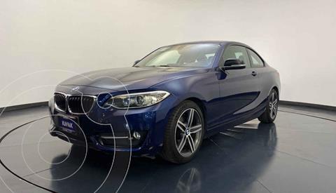 BMW Serie 2 220iA Convertible Sport Line Aut usado (2016) color Azul precio $327,999
