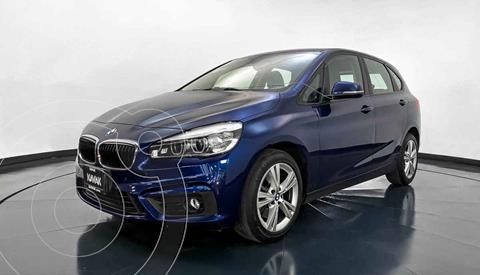 BMW Serie 2 Active Tourer 220iA Aut usado (2016) color Azul precio $294,999