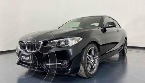 BMW Serie 2 220iA Convertible Sport Line Aut usado (2016) color Negro precio $349,999