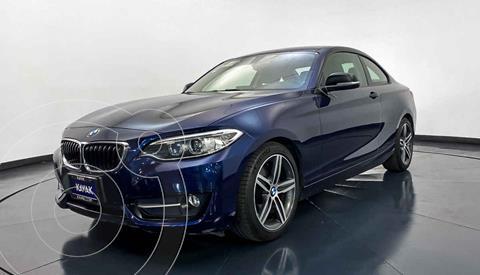 foto BMW Serie 2 220iA Convertible Sport Line Aut usado (2016) color Azul precio $327,999