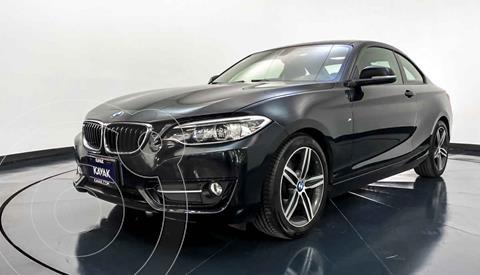 BMW Serie 2 220iA Convertible Sport Line Aut usado (2016) color Negro precio $322,999