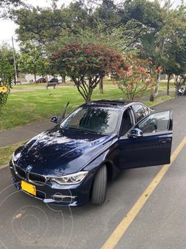 BMW Serie 3 316i Executive usado (2015) color Azul precio $74.000.000