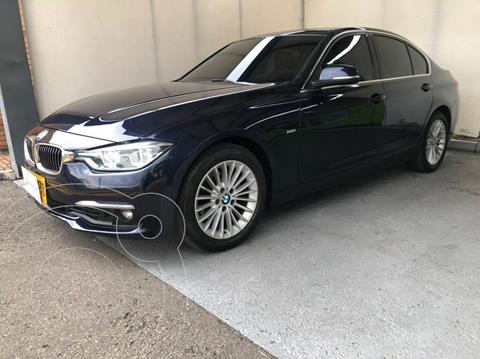 BMW Serie 3 320i Luxury Line   usado (2016) color Azul precio $78.500.000