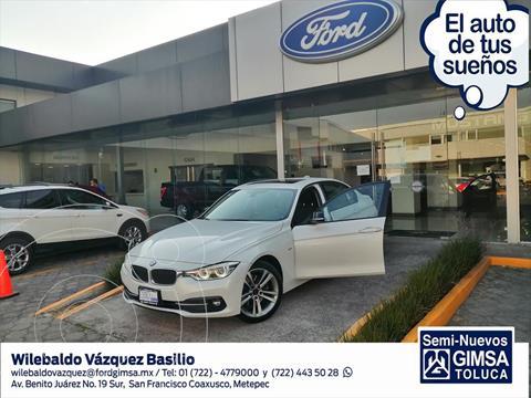 BMW Serie 3 330iA Sport Line usado (2018) color Blanco precio $399,000