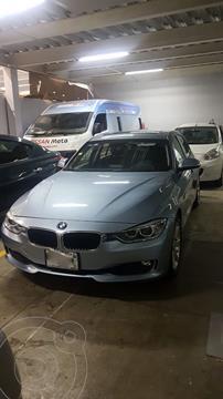 BMW Serie 3 320iA  usado (2013) color Azul Liquido precio $200,000