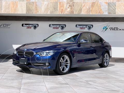 BMW Serie 3 330e Luxury Line (Hibrido) Aut usado (2018) color Azul precio $520,000