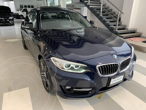 BMW Serie 3 325iA Coupe  usado (2017) color Azul Acero precio $390,000