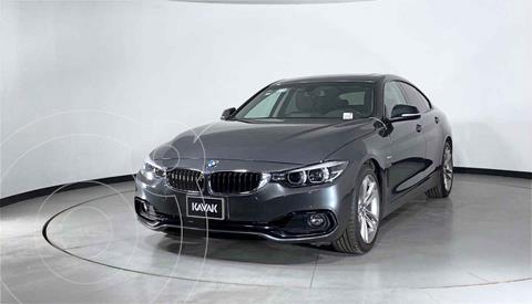 BMW Serie 4 Coupe 420iA Gran Coupe Sport Line Aut usado (2018) color Gris precio $472,999