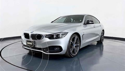 BMW Serie 4 Coupe 420iA Gran Coupe Sport Line Aut usado (2018) color Plata precio $509,999