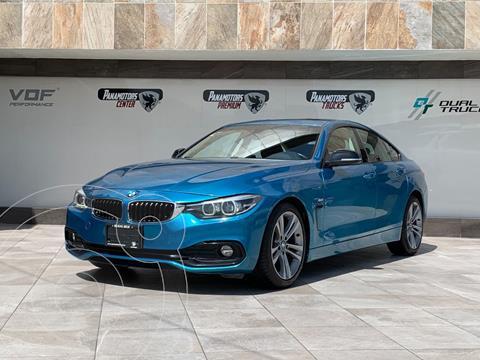 BMW Serie 4 Gran Coupe 430iA Sport Line Aut usado (2018) color Azul precio $535,000