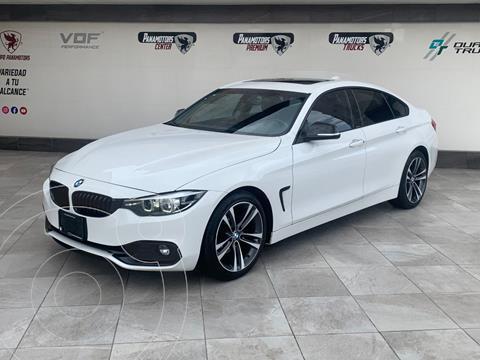 BMW Serie 4 420iA Gran Coupe Sport Line Aut usado (2020) color Blanco precio $595,000