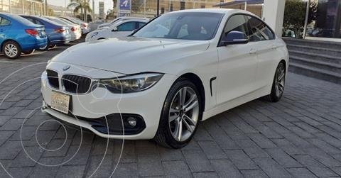 BMW Serie 4 420iA Gran Coupe Sport Line Aut usado (2019) color Blanco precio $449,900