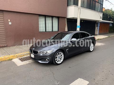 BMW Serie 4 420iA Gran Coupe Aut usado (2017) color Gris Mineral precio $472,000