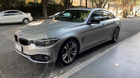 BMW Serie 4 420iA Gran Coupe Sport Line Aut usado (2018) color Plata precio $492,000