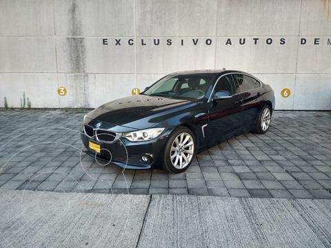 BMW Serie 4 420iA Coupe Aut usado (2017) color Negro precio $409,900
