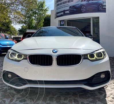 BMW Serie 4 420iA Gran Coupe Sport Line Aut usado (2018) color Blanco Mineral precio $420,000