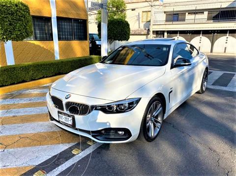 BMW Serie 4 430iA Coupe M Sport Aut usado (2018) color Blanco Mineral precio $499,900