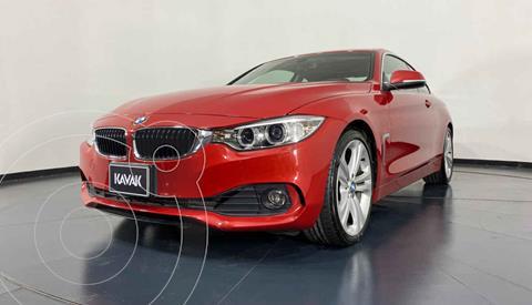 BMW Serie 4 420iA Coupe Aut usado (2017) color Rojo precio $472,999